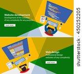 developments of the website....