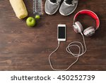 healthy lifestyle concept ... | Shutterstock . vector #450252739