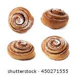Cinnamon Roll Bun Coated With...