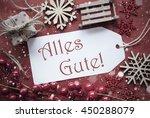 nostalgic christmas decoration  ...   Shutterstock . vector #450288079