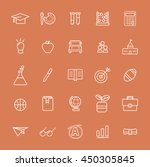 vector ui illustration... | Shutterstock .eps vector #450305845