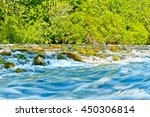Cetina River Rapids Near...
