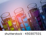 laboratory science experiments | Shutterstock . vector #450307531