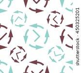 time vector seamless background.... | Shutterstock .eps vector #450325201