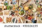 food catering cuisine culinary... | Shutterstock . vector #450326155