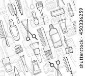 seamless pattern. pattern of... | Shutterstock .eps vector #450336259