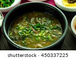 korean traditional food loach... | Shutterstock . vector #450337225