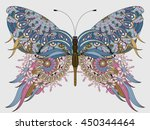 Amazing Fly Butterfly Coloring...