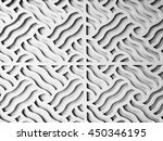 Seamless white vintage pattern. Abstract textured background.
