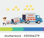 businessman start up small... | Shutterstock .eps vector #450346279