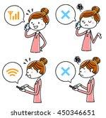 Women Who Use A Smart Phone ...