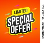 special offer badges for labels ... | Shutterstock .eps vector #450365461