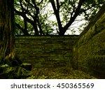 Tree Forest Fantasy Brick Wall...