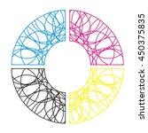 letter o logo design | Shutterstock .eps vector #450375835