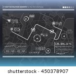 head up display navigation map...