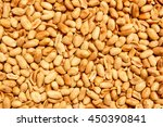 Peeled Peanuts For Background