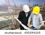 management consulting with... | Shutterstock . vector #450394105