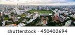 Panorama Of Bangkok Cityscape...