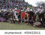 krakow  poland   march 29  2016 ... | Shutterstock . vector #450422011