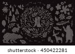 handsketched elements of... | Shutterstock .eps vector #450422281