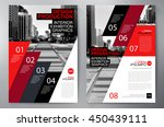 business brochure flyer design... | Shutterstock .eps vector #450439111
