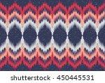 oriental ethnic seamless... | Shutterstock .eps vector #450445531