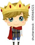 illustration of a boy wearing a ...   Shutterstock .eps vector #450464221