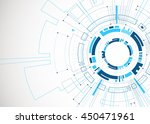 abstract  blue colored... | Shutterstock .eps vector #450471961