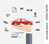car insurance services.... | Shutterstock .eps vector #450476059