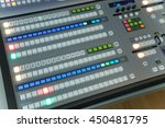 photo of the video and audio... | Shutterstock . vector #450481795