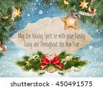 christmas greeting card. merry