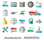 repair and maintenance of... | Shutterstock .eps vector #450495931