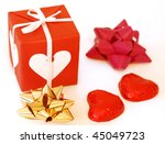 composition for valentine's day ... | Shutterstock . vector #45049723