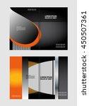 brochure template  | Shutterstock .eps vector #450507361