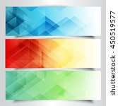 collection of modern banners...   Shutterstock .eps vector #450519577