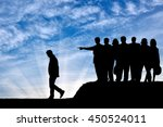 discrimination concept.... | Shutterstock . vector #450524011
