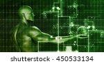 mobile marketing on the... | Shutterstock . vector #450533134