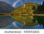 Autumn Morning At Alpine Lake ...