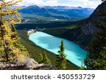 Lake Louise Overlooking From...