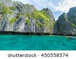 thailand maya beach the beach | Shutterstock . vector #450558574