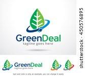 green deal logo template design ... | Shutterstock .eps vector #450576895