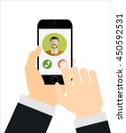 mobile cell smart phone call...