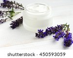 soothing skincare cosmetic... | Shutterstock . vector #450593059