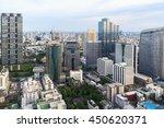 mahanakorn tower city center... | Shutterstock . vector #450620371