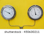 pressure gauge in oil and gas... | Shutterstock . vector #450630211