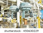 pressure control valve in oil... | Shutterstock . vector #450630229