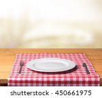 plate. | Shutterstock . vector #450661975