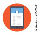social app vector icon