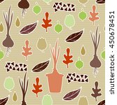 seamless pattern with... | Shutterstock .eps vector #450678451
