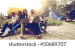 summer  communication ... | Shutterstock . vector #450689707